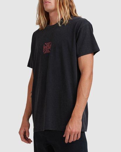 1 Crossed Up Short Sleeve Tee Black 9513022 Billabong