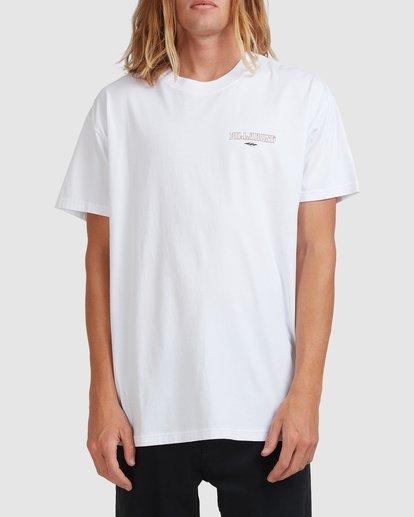 0 Screamin Short Sleeve Tee White 9513023 Billabong