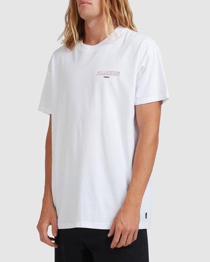 1 Screamin Short Sleeve Tee White 9513023 Billabong