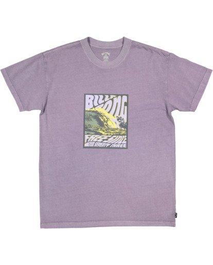 4 Cone Warp Short Sleeve Tee Purple 9513024 Billabong