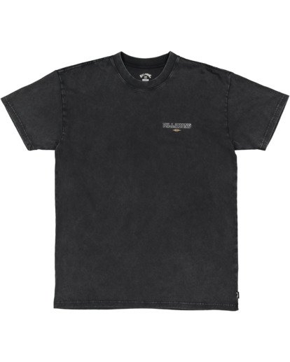4 Free Rider Short Sleeve Tee Black 9513025 Billabong