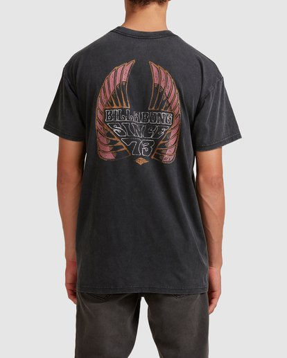 2 Free Rider Short Sleeve Tee Black 9513025 Billabong