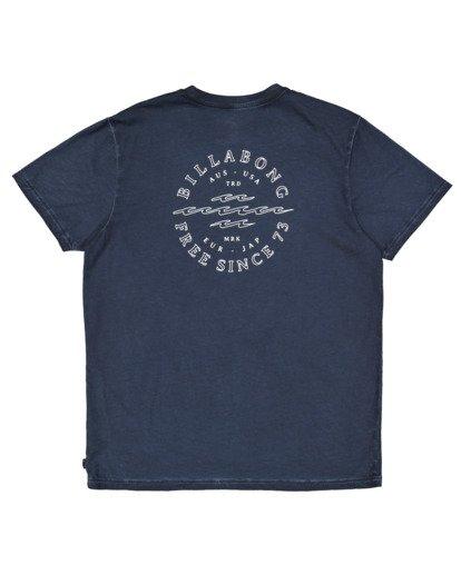 5 Big Donny Short Sleeve Tee Blue 9513031 Billabong