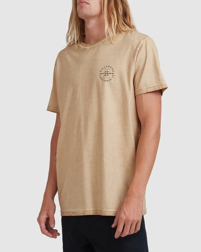1 Big Donny Short Sleeve Tee Green 9513031 Billabong