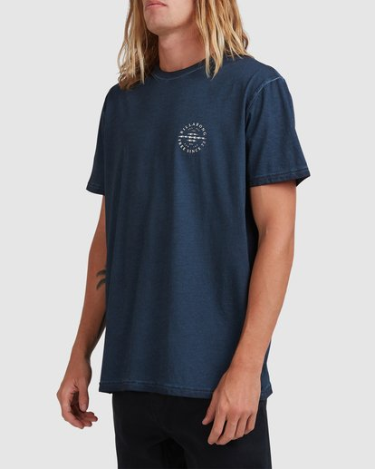 1 Big Donny Short Sleeve Tee Blue 9513031 Billabong