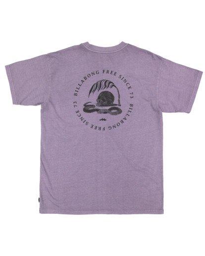 5 Sunken City Short Sleeve Tee Purple 9513032 Billabong