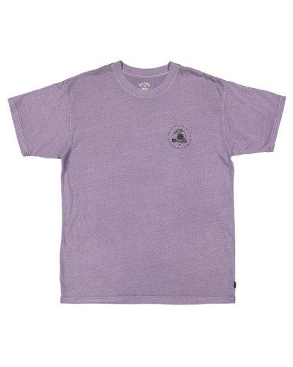 4 Sunken City Short Sleeve Tee Purple 9513032 Billabong