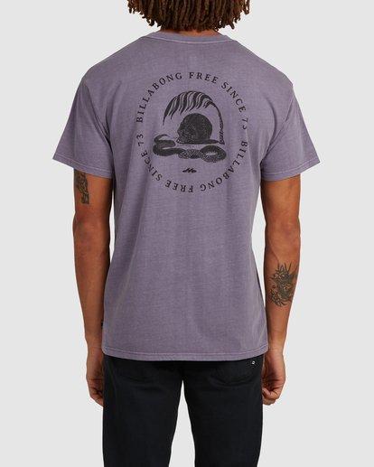 2 Sunken City Short Sleeve Tee Purple 9513032 Billabong