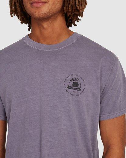 3 Sunken City Short Sleeve Tee Purple 9513032 Billabong