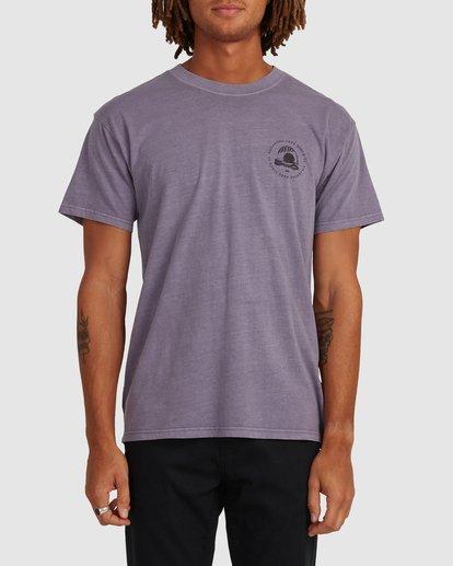 0 Sunken City Short Sleeve Tee Purple 9513032 Billabong