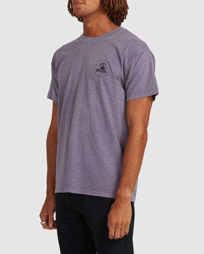1 Sunken City Short Sleeve Tee Purple 9513032 Billabong