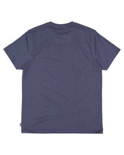 5 Cloud Word Short Sleeve Tee Blue 9513036 Billabong