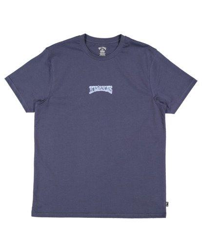 4 Cloud Word Short Sleeve Tee Blue 9513036 Billabong