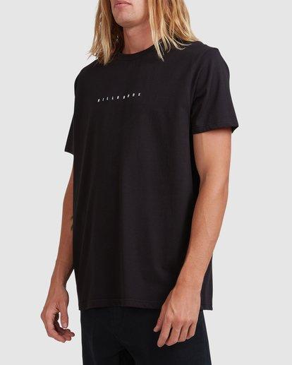 1 Smitty Short Sleeve Tee Black 9513041 Billabong