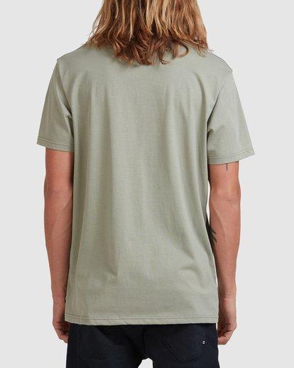 2 Smitty Short Sleeve Tee Green 9513041 Billabong