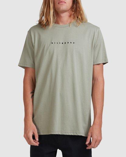 0 Smitty Short Sleeve Tee Green 9513041 Billabong