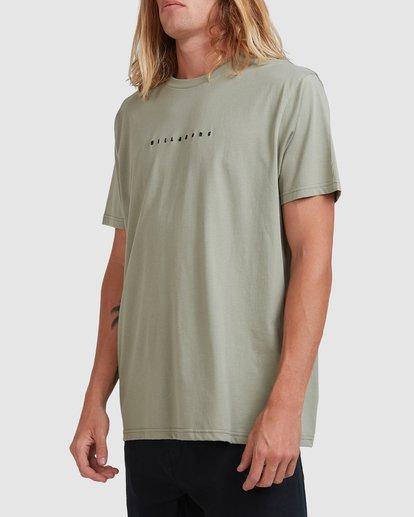 1 Smitty Short Sleeve Tee Green 9513041 Billabong