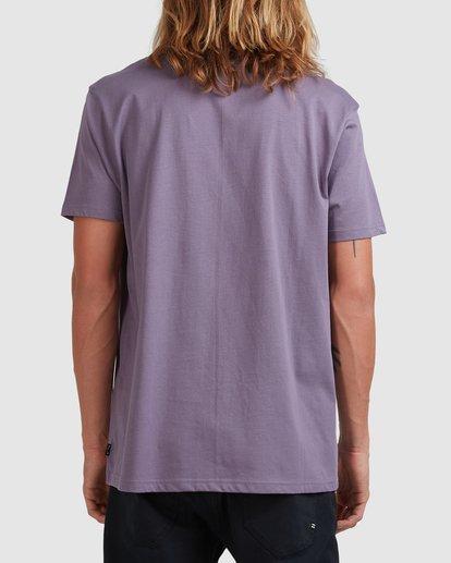 2 Smitty Short Sleeve Tee Purple 9513041 Billabong