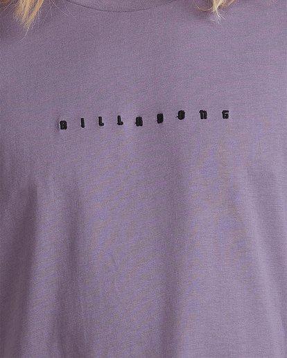 3 Smitty Short Sleeve Tee Purple 9513041 Billabong