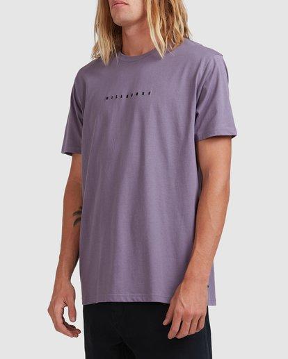 1 Smitty Short Sleeve Tee Purple 9513041 Billabong