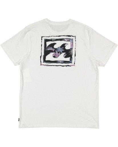 5 Crayon Wave Short Sleeve Tee White 9513042 Billabong