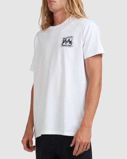 1 Crayon Wave Short Sleeve Tee White 9513042 Billabong