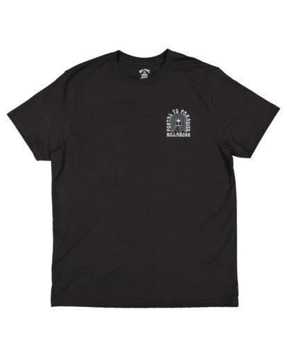 4 Portal Short Sleeve Tee Black 9513044 Billabong