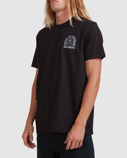 1 Portal Short Sleeve Tee Black 9513044 Billabong