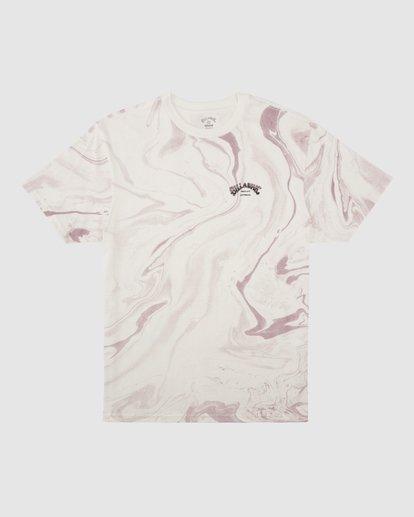 0 Marble Arch Short Sleeve T-Shirt White 9513045 Billabong