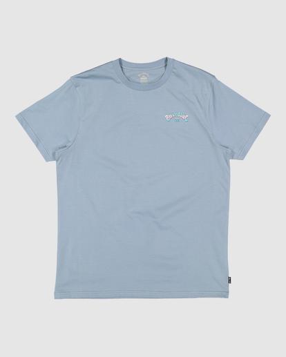 0 Arch Fill Short Sleeve Tee Blue 9513046 Billabong