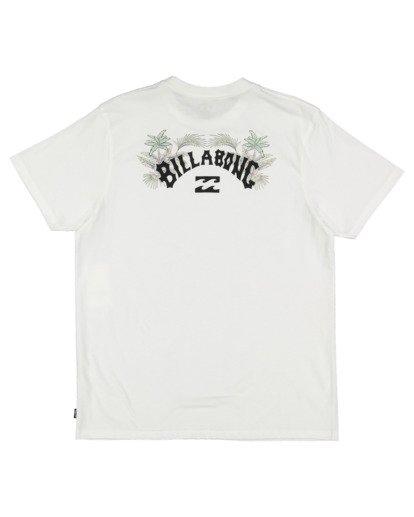 5 Arch Fill Short Sleeve Tee White 9513046 Billabong