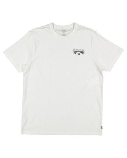 4 Arch Fill Short Sleeve Tee White 9513046 Billabong