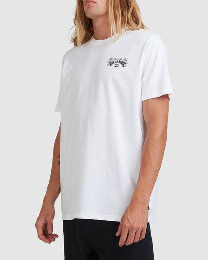 1 Arch Fill Short Sleeve Tee White 9513046 Billabong