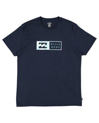 0 Inverse Short Sleeve Tee Blue 9513049 Billabong