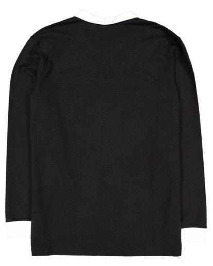 5 Thiccness Long Sleeve Polo Black 9513172 Billabong