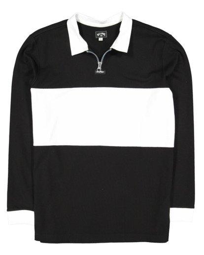 4 Thiccness Long Sleeve Polo Black 9513172 Billabong