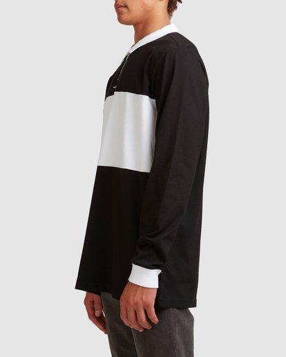 1 Thiccness Long Sleeve Polo Black 9513172 Billabong