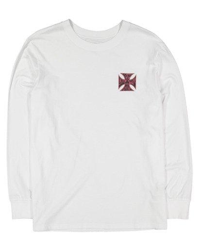 4 Crossed Up Long Sleeve Tee White 9513186 Billabong