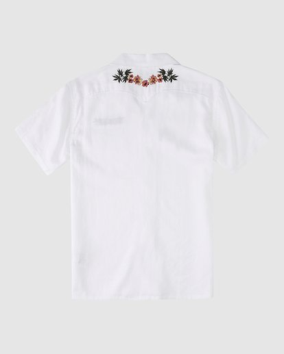 9 Wrangler Dakota Hemp Vacay Short Sleeve Shirt Beige 9513201 Billabong