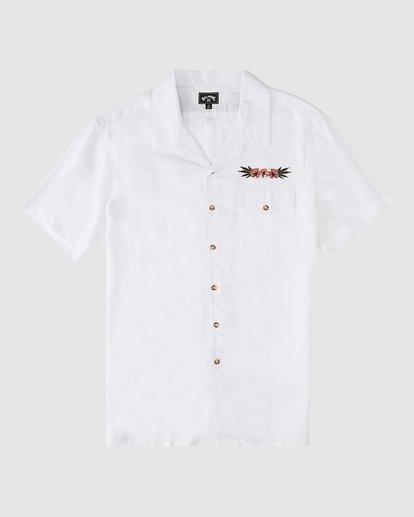 8 Wrangler Dakota Hemp Vacay Short Sleeve Shirt Beige 9513201 Billabong