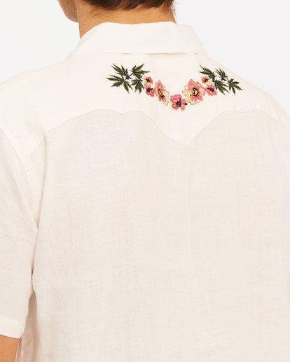 6 Wrangler Dakota Hemp Vacay Short Sleeve Shirt Beige 9513201 Billabong