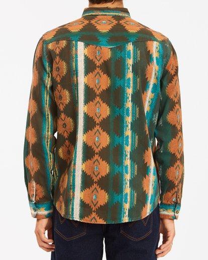 4 Wrangler Westward Twill Long Sleeve Shirt Brown 9513204 Billabong