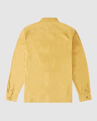 8 Wranlger Bowie Cord Long Sleeve Shirt White 9513205 Billabong
