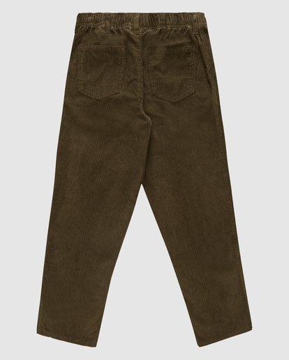 7 Wrangler Bowie Layback Pants Brown 9513302 Billabong