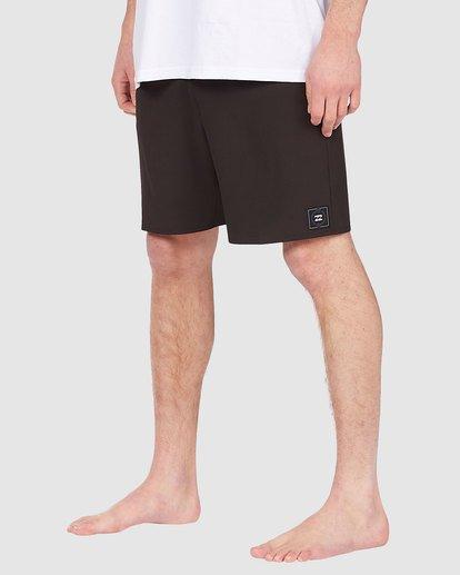 3 All Day Eco Pro Boardshorts Black 9513417 Billabong