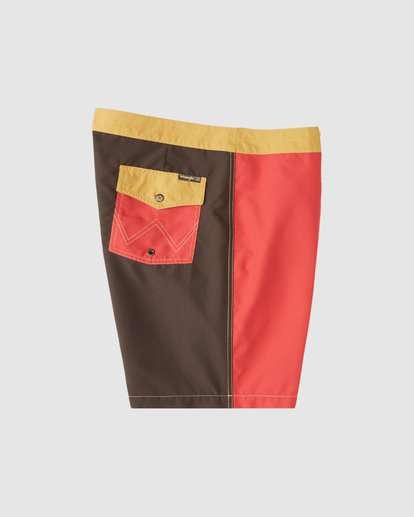 5 Wrangler Icons Lowtide Boardshorts Red 9513423 Billabong