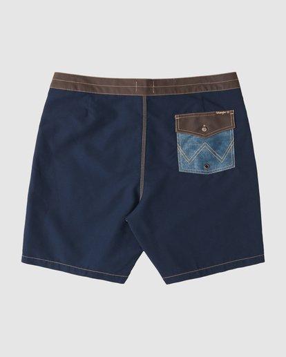 4 Wrangler Icons Lowtide Boardshorts Blue 9513423 Billabong