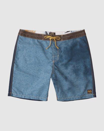 3 Wrangler Icons Lowtide Boardshorts Blue 9513423 Billabong