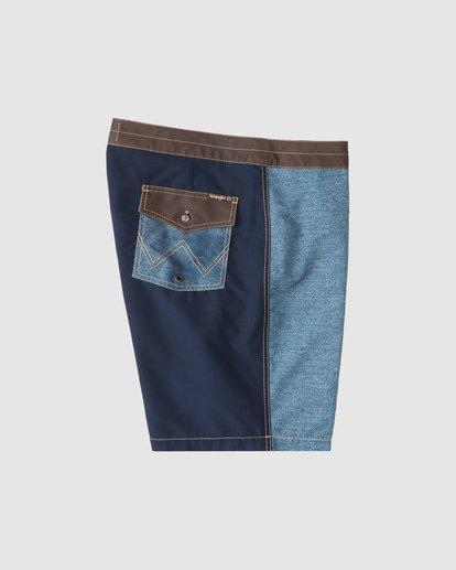 5 Wrangler Icons Lowtide Boardshorts Blue 9513423 Billabong