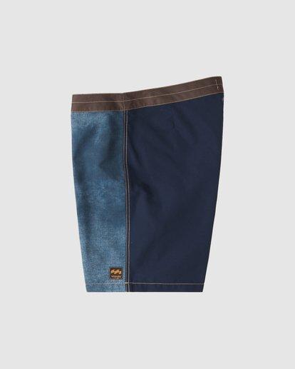 6 Wrangler Icons Lowtide Boardshorts Blue 9513423 Billabong